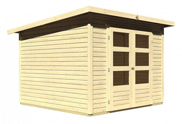 Gartenhaus STOCKACH 4 19 mm 2,46 x 2,46 m