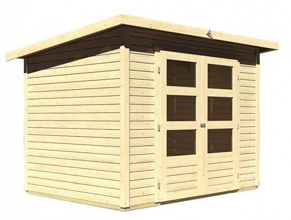 Gartenhaus STOCKACH 3 19 mm 2,46 x 1,86 m